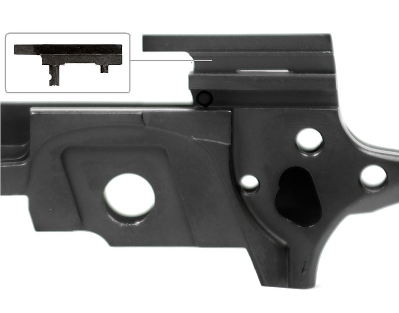 Limcat Extended Ejector for 1911 - 9mm, 38 Super, 357 Sig, 40 S&W