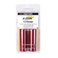 A-Zoom 12 Gauge Metal Snap Caps - 2 Pack