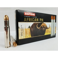 Norma African PH 505 Gibbs 600 Gr. FMJ 10 Pack