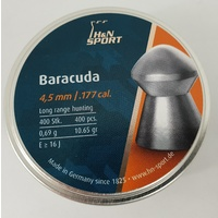 H&N Sport Barracuda .177 Cal. 10.65 Gr. Air Rifle Pellets 400 Pk