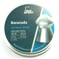 H&N Sport Barracuda .22 21.14gr Air Rifle Pellets 200pk