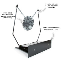 Black Carbon Free Standing IVO Target Stand Full Kit (includes arms and chain kit)
