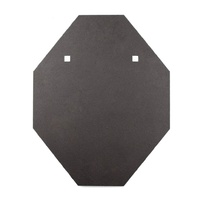 Black Carbon 16mm IPSC Mini Target Plate Bisalloy 500