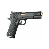 Bul Armory 1911 Trophy Pistol - Black and Gold (Tin Gold Plated Barrel)