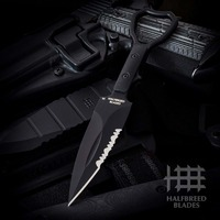 Halfbreed Blades CCK-01 Compact Clearance Knife - BLACK