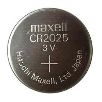 Maxell CR2025 Lithium 3V Battery