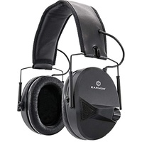 Earmor M30 Electronic Hearing Protection - Black Ear Muffs