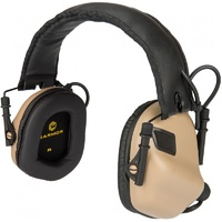 Earmor M31 Electronic Hearing Protection - Brown