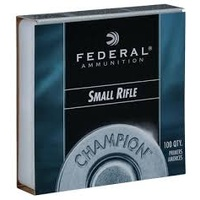 Federal Small Rifle Primers - 100pk