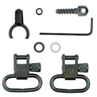 Grovtec Two Piece Barrel Band Swivel Set .700-.750in 1in Loops
