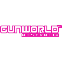 Gun World Australia Large Sticker Pink