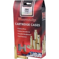 Hornady Unprimed Cases / Brass 204 Ruger - 50pk
