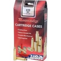 Hornady Unprimed Cases / Brass 223 REM - 50pk