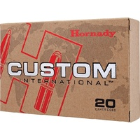 Hornady Custom International Ammunition 30-06 Springfield 180 gr SP 20pk