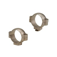 LEUPOLD STD 30MM RINGS MEDIUM SILVER