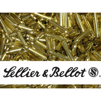 Sellier & Bellot Unprimed Cases / Brass 38 Special - 50pk