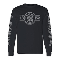 Smith & Wesson Est 1852 Long Sleeve Tee - 2XL