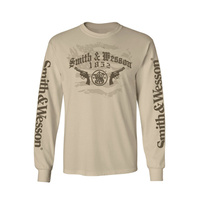 Smith & Wesson Firearms Long Sleeve Tee - Lge