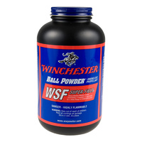 Winchester Super Field Smokeless Propellant in 1LB Plastic Container