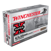Winchester Super X 6.5x55 Swedish 140 Gr. SP 20 Pack