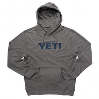 Logo Hoodie Pull Over Heather Gray