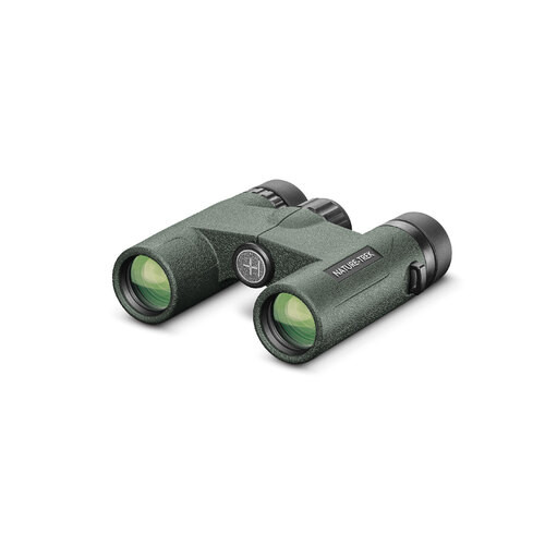 Hawke Nature-Trek Binoculars 8x25 Green - Compact |BAK4 | Waterproof