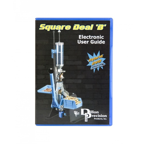 Dillon Square Deal B DVD Instruction Manual