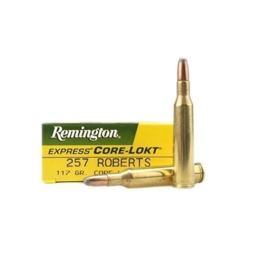 Remington 257 Roberts 117gr SP Core-Lokt 20pk
