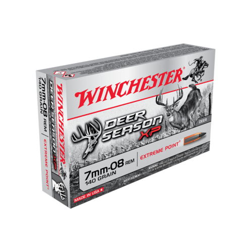 Winchester Deer Season 7mm-08 140 Gr. XP 20 Pack